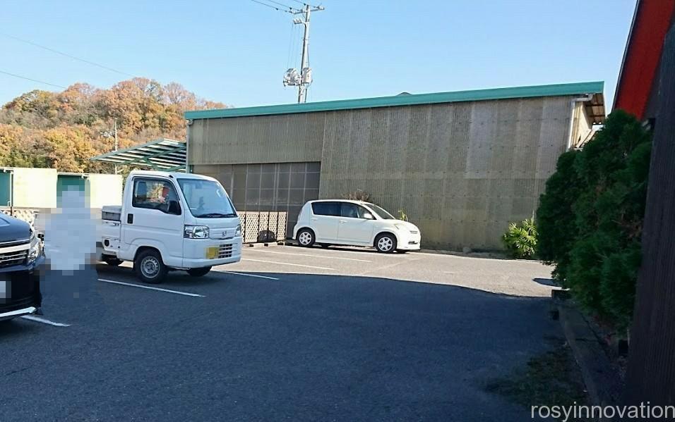 山や一休庵2 駐車場