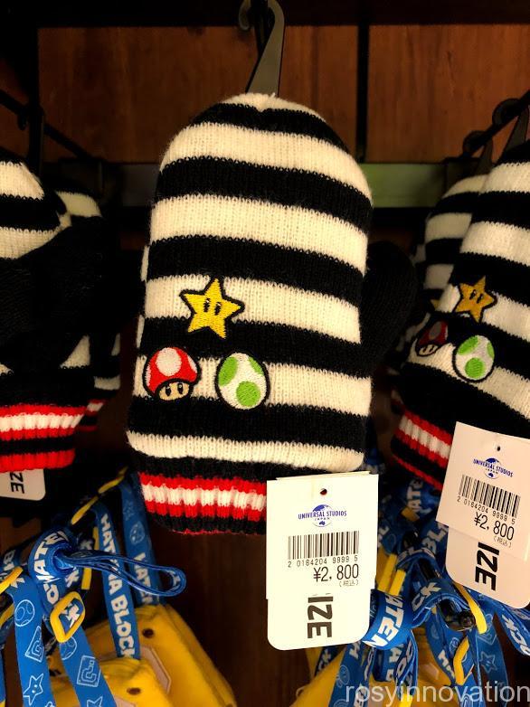 USJ任天堂マリオグッズワンナップ2.8キッズファッション 手袋