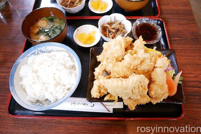 コーヒーハウスサンビレッジ (6)鶏の天ぷら定食