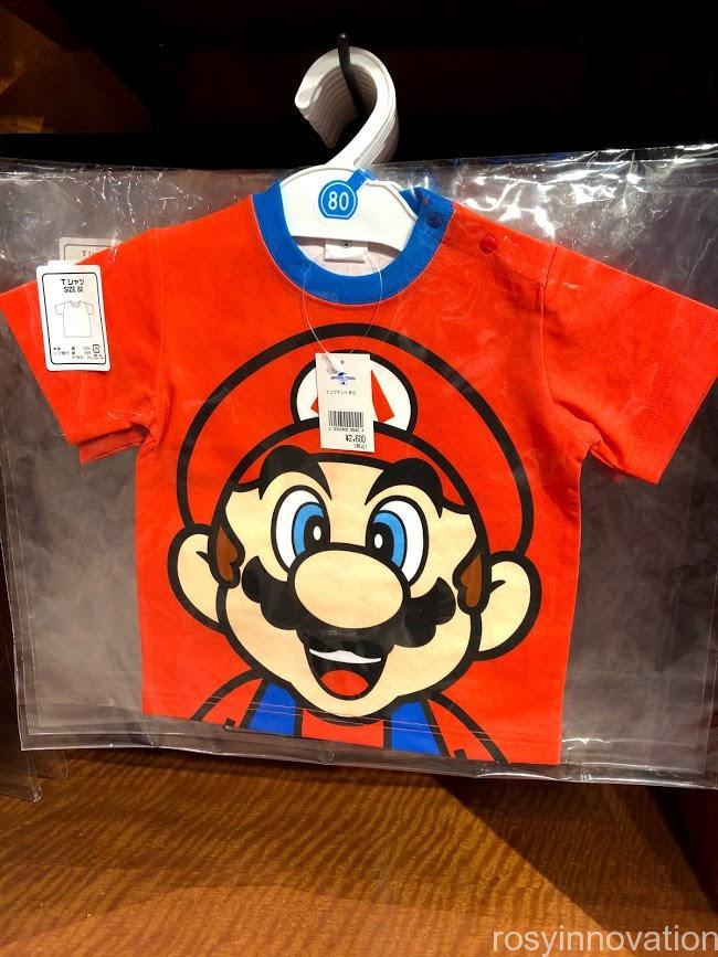 USJ任天堂マリオグッズワンナップ2.8キッズファッション マリオTシャツ