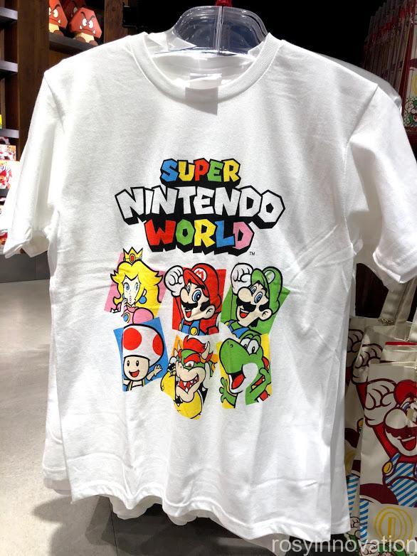 USJ任天堂マリオグッズワンナップ書き下ろしシリーズ Tシャツ