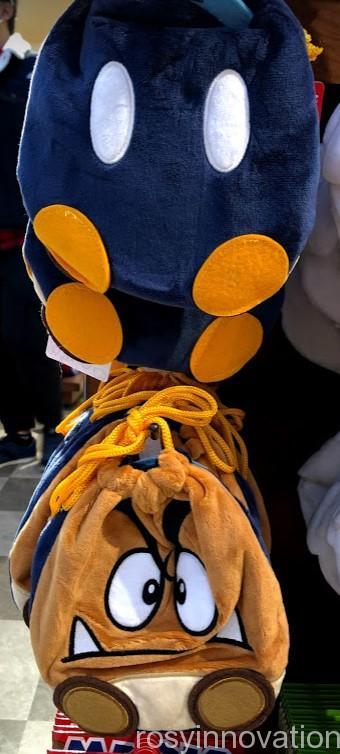 USJワンナップマリオグッズ 雑貨巾着クリボー