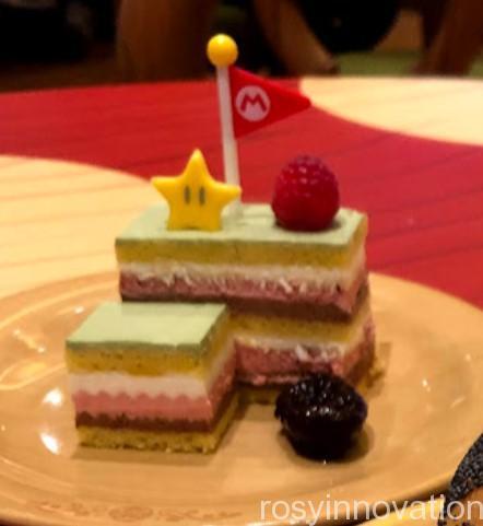 キノピオカフェUSJ (15)ゴールポールケーキ