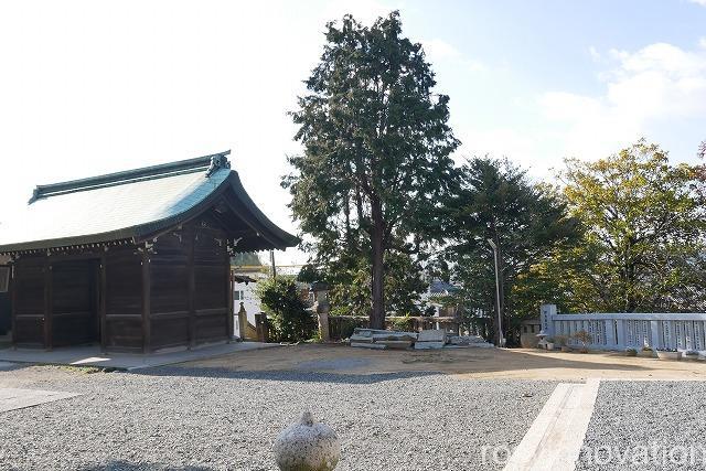 鶴崎神社 (1)駐車場