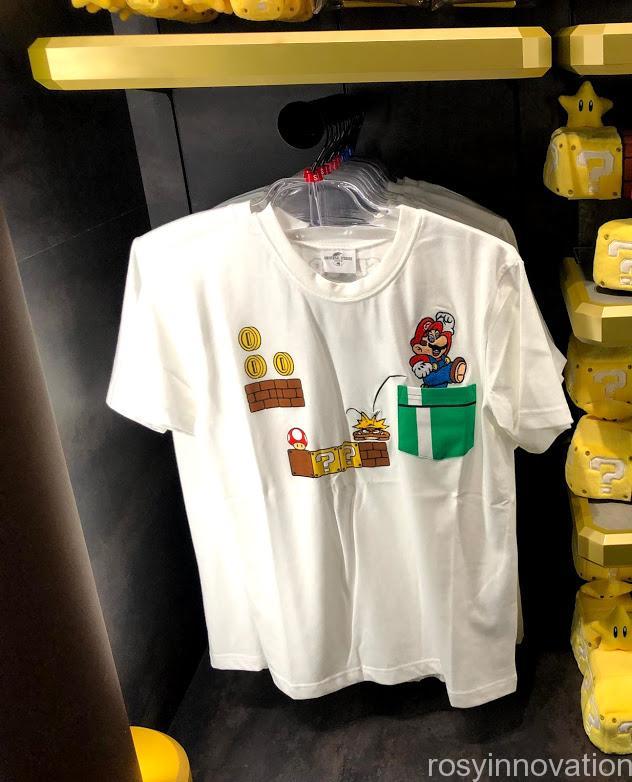 USJワンナップ・ファクトリーグッズ ファッション Tシャツ 土管マリオ
