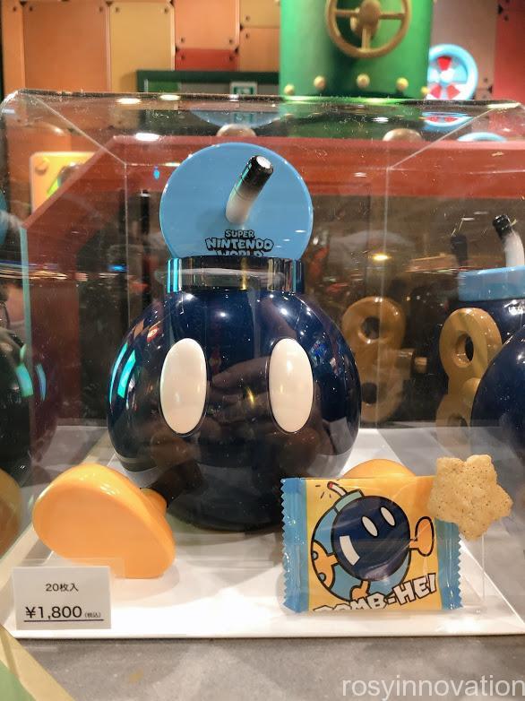 USJワンナップ・ファクトリーグッズ お菓子 ボムへいのお菓子