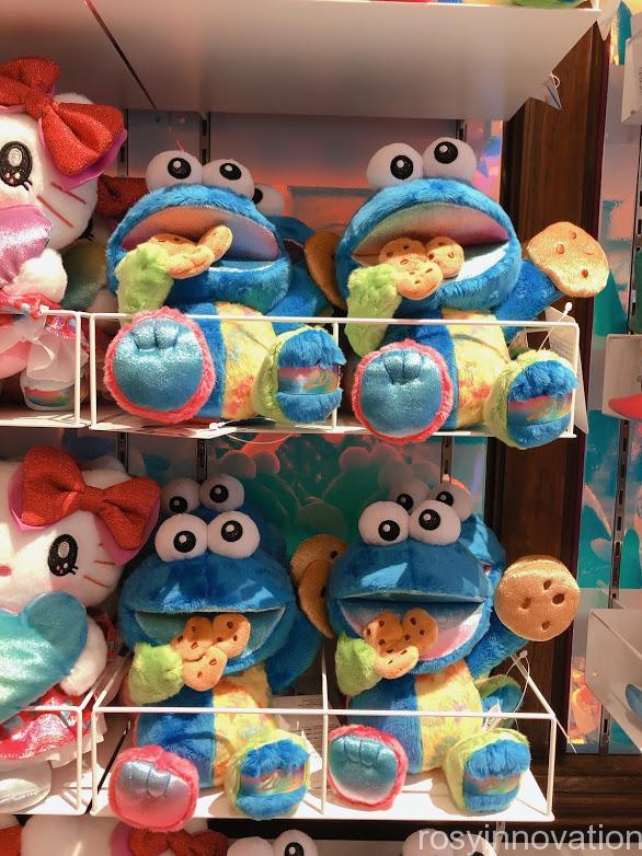 ユニバ20周年グッズ ぬいぐるみ クッキーモンスター