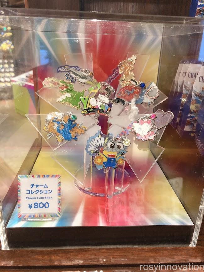 ユニバ20周年グッズ ユニコレ チャームコレクション