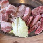 【岡山グルメ】肉のサトウ商店岡山ドーム前(3/12新OPEN)2切れ~頼めるので1人焼肉に特におすすめ!