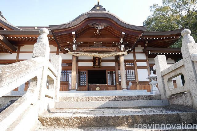 鶴崎神社 (1)場所