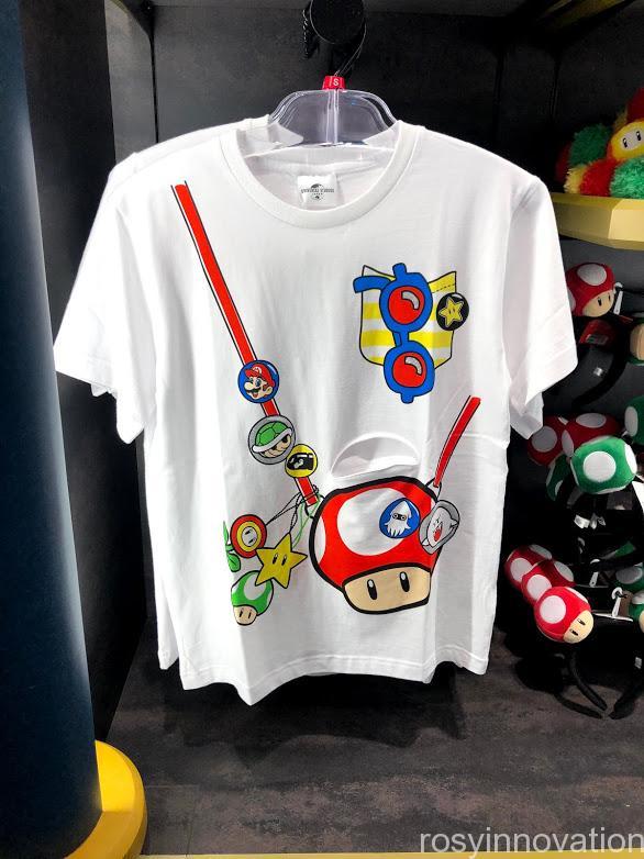 USJワンナップ・ファクトリーグッズ ファッション Tシャツ きのこ