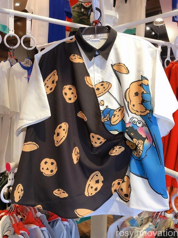 ユニバ20周年グッズ ファッション クッキーモンスターシャツ