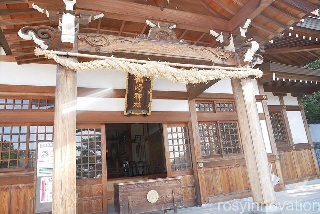 鶴崎神社 (1)拝殿