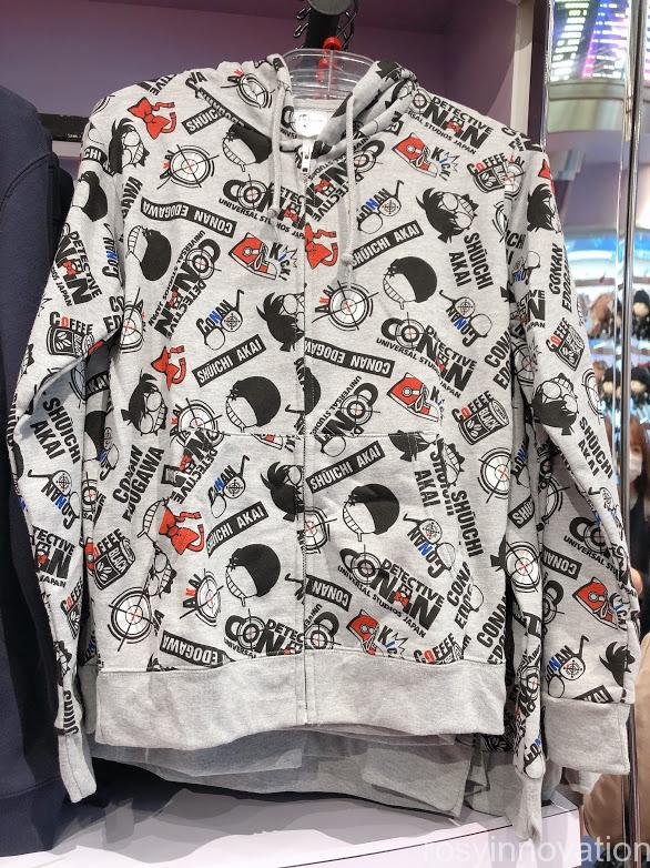 ユニバコナングッズ2021 ファッション パーカーグレー