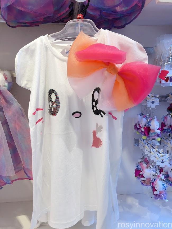 ユニバ20周年グッズ ファッション キティTシャツキッズ