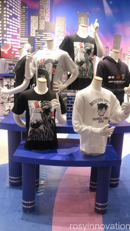 コナングッズ2021 ファッション シャツ実物マネキン