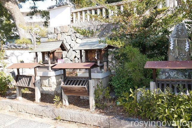 鶴崎神社 (1)お参り