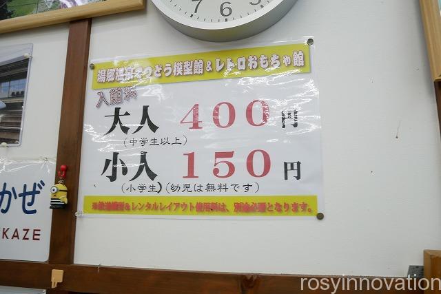 湯郷温泉レトロおもちゃ館 (51)入館料
