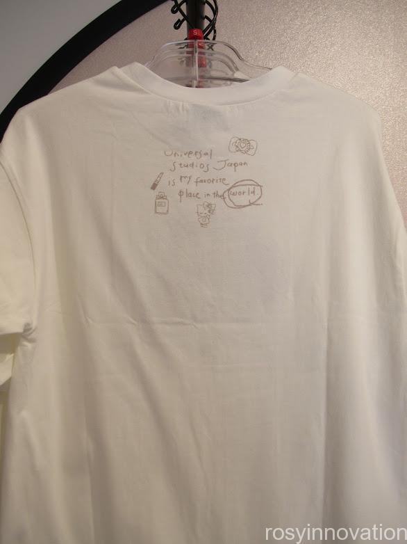 USJアーティストコラボグッズ Kotoka Izumi1 Tシャツ裏