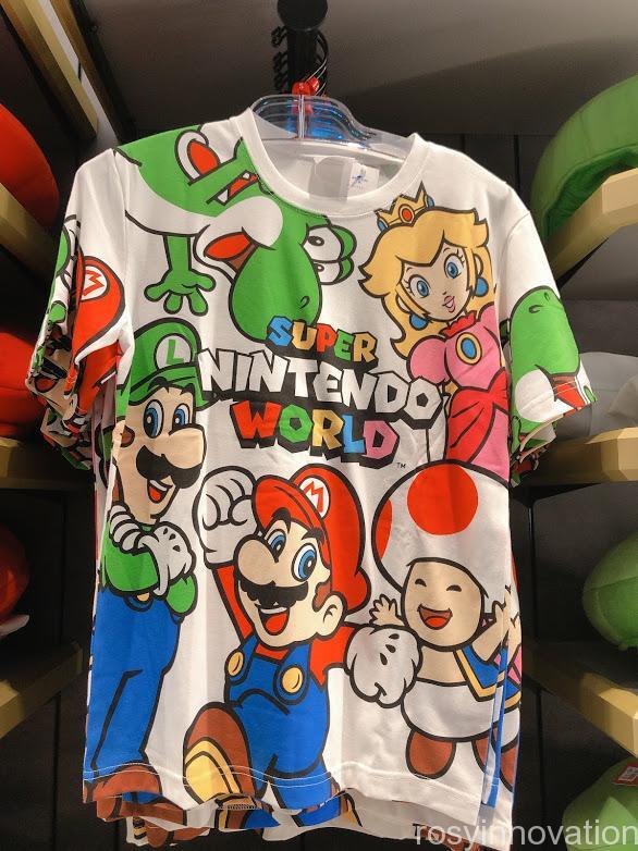 4.5マリオワンナップファクトリーグッズ ファッション Tシャツ大きい