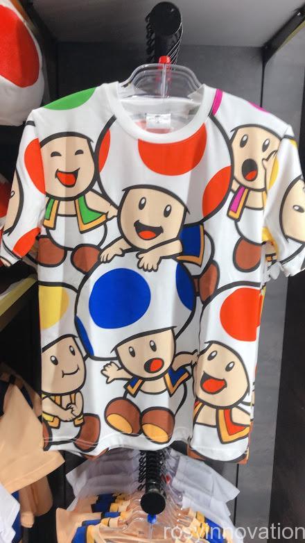 4.5マリオワンナップファクトリーグッズ ファッション Tシャツキノピオカラフル
