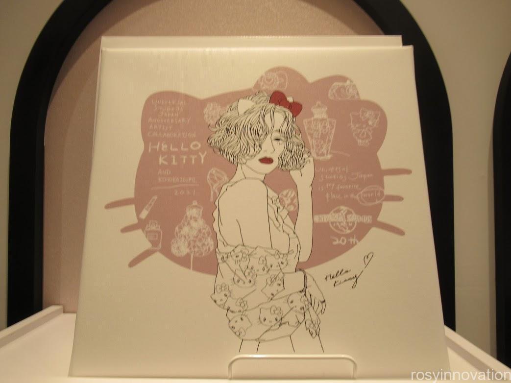 USJアーティストコラボグッズ Kotoka Izumi アートパネル