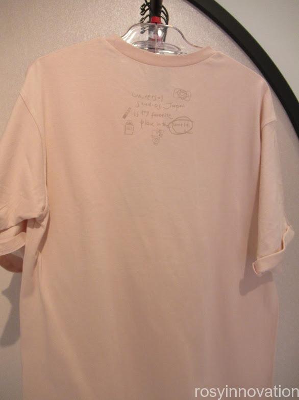 USJアーティストコラボグッズ Kotoka Izumi Tシャツ裏