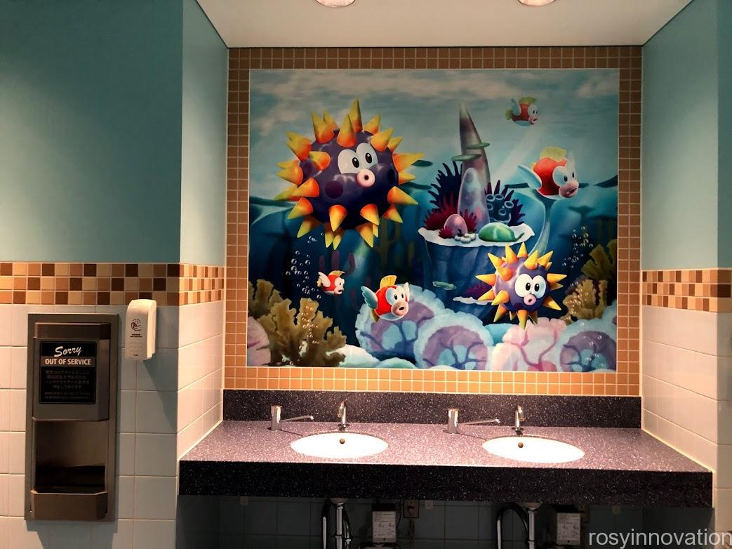 スーパーニンテンドーワールドWi-Fi (2)トイレ