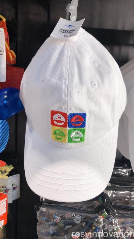 4.5マリオワンナップファクトリーグッズ ファッション 帽子白