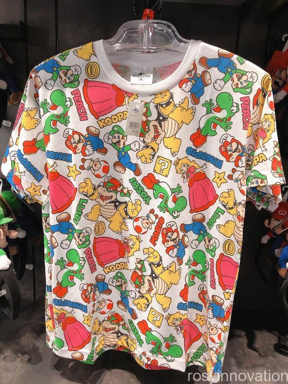 4.5マリオワンナップファクトリーグッズ ファッション Tシャツカラフル