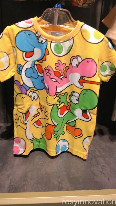 4.5マリオワンナップファクトリーグッズ ファッション Tシャツヨッシー黄色
