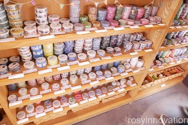 水辺のカフェ 三宅商店 (10)マスキングテープ