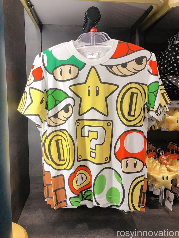 4.5マリオワンナップファクトリーグッズ ファッション Tシャツアイテム