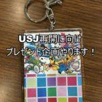 【USJ】ブログ読者様御礼!プレゼント企画♪アクリルキーホルダー3名様プレゼント