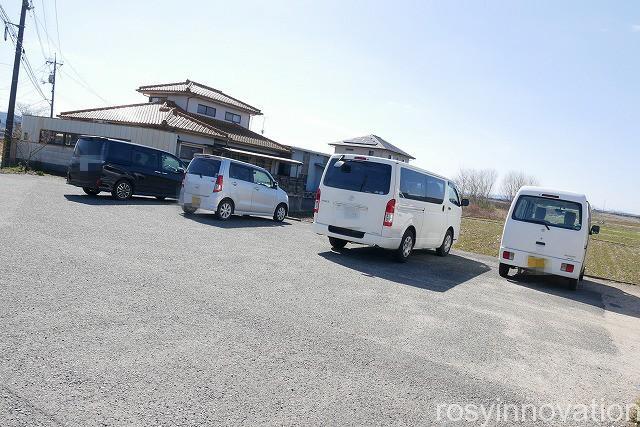 あかぎうどん足守 (2)駐車場