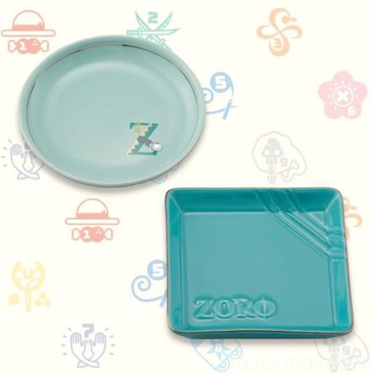 USJワンピースグッズ2021 雑貨 ミニプレートセット ゾロ