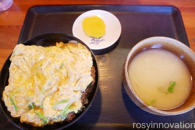 田吾作 津山 (7)カツ丼