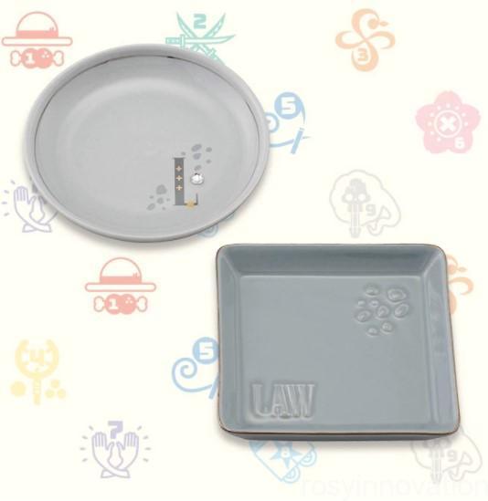 USJワンピースグッズ2021 雑貨 ミニプレートセット ロー