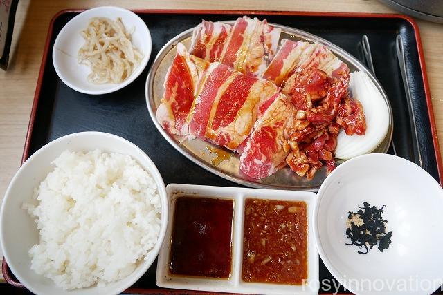 大衆焼肉まいど (15)Wカルビ定食