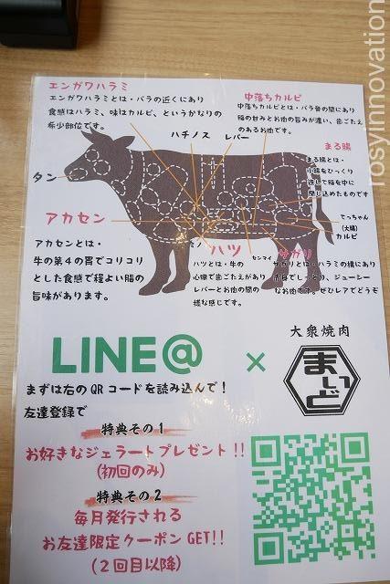 大衆焼肉まいど (11)LINE