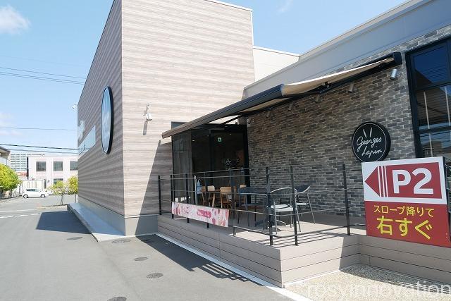 ジョルジュラパンうさぎや岡山店カフェ (2)住所
