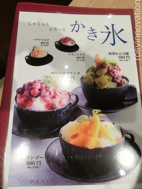カフェ青山岡山本店 (23)かき氷