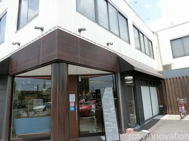カフェ青山岡山本店 (2)場所