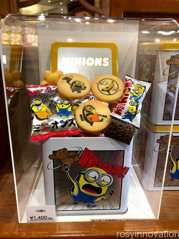 USJミニオンのお菓子のお土産2021年夏 (14)缶クッキー