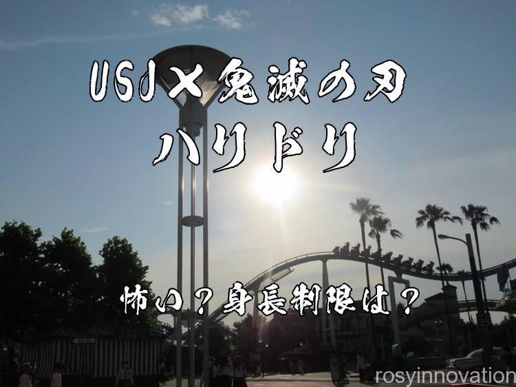鬼滅の刃×ハリドリは怖い? (5)絶叫苦手