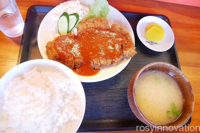 田吾作 津山 (5)とんかつ定食
