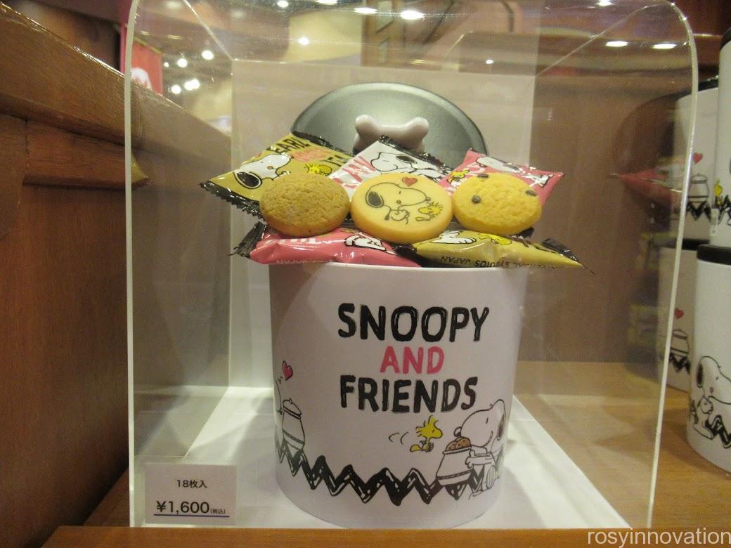 スヌーピーのお菓子のお土産 クッキー缶