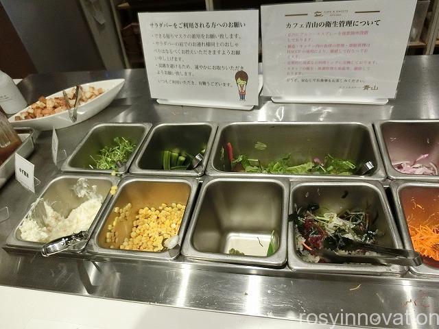 カフェ青山岡山本店 (28)サラダ食べ放題