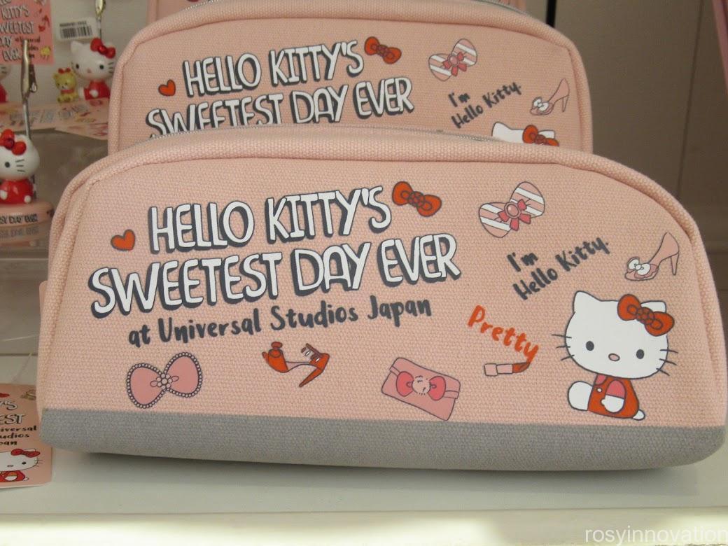 キティ&タイニーチャムのグッズ「SWEETEST DAY EVER」 文房具 ペンケース