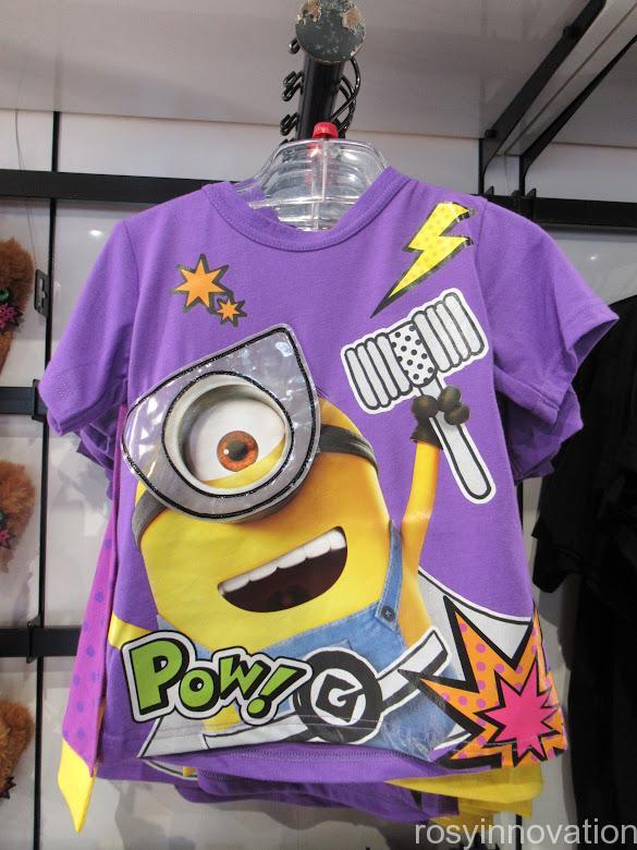 ミニオンのハロウィングッズ2021 身に着け Tシャツキッズ